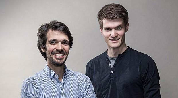 Die beiden Gründer von Protonet: Ali Jelveh und Christopher Blum.