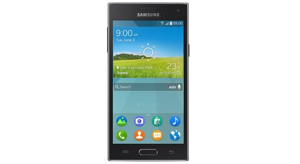 So sieht das Samsung Z mit eigenem Betriebssystem aus.