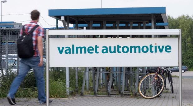 Das Betriebsgelände des Autozulieferers Valmet Automotive in Osnabrück.