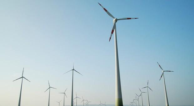 Windenergieanlagen in Sachsen-Anhalt.