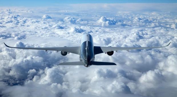 Ein Airbus A350.