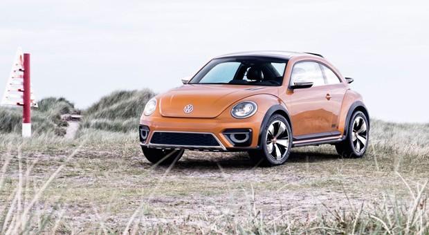 Volkswagen will den Beetle Dune 2016 auf den Markt bringen. Wie die Bilder vom Desing-Entwurf zeigen: Die Zielgruppe sind vor allem Individualisten.