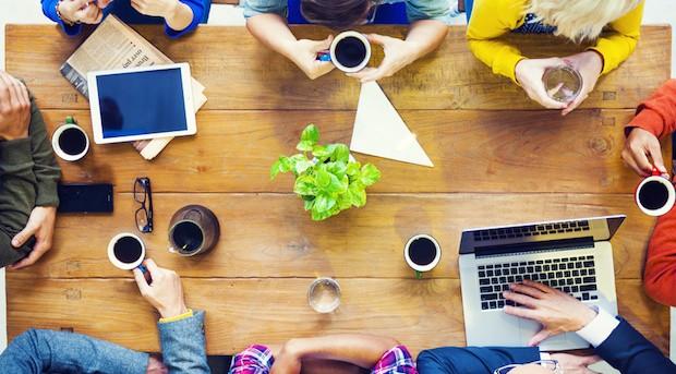 Firmenkultur kann nur dort gedeihen, wo es auch Raum für Gespräche gibt