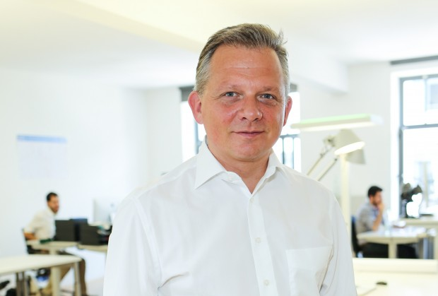 Digitaler Revoluzzer: Matthias Kröner, Chef der Fidor Bank, greift die Konkurrenz an