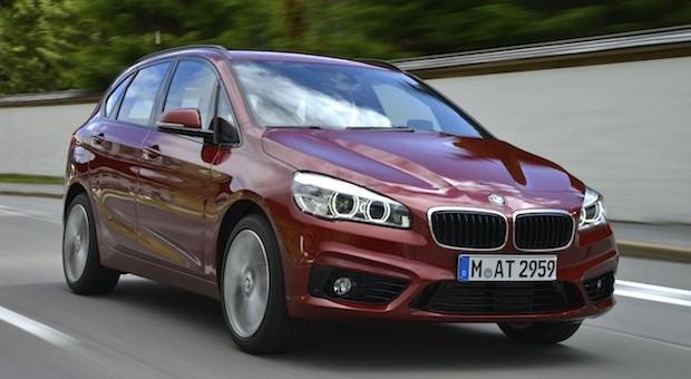 Front- statt Heckantrieb: der BMW 218d Active Tourer
