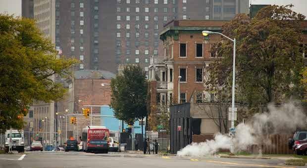 In ganz Detroit gibt es leerstehende Häuser. Initiativen versuchen jetzt, der Stadt neues Leben einzuhauchen