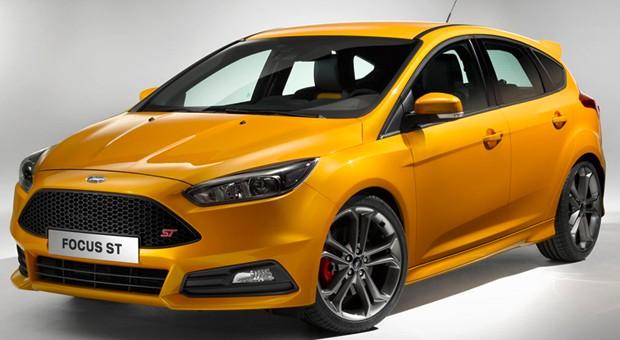 Ab Anfang 2015 erhältlich: der neue Ford Focus ST.
