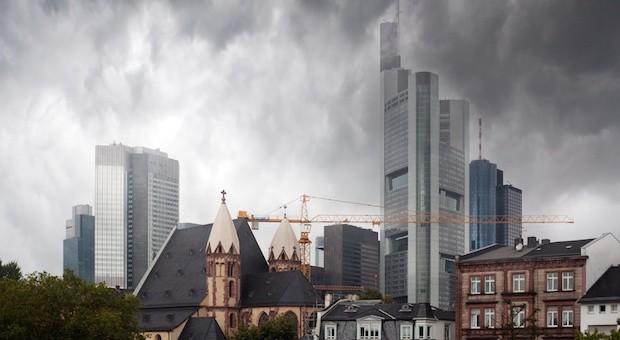Die Frankfurter Skyline