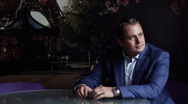 Wie wird man zu einem Start-up-Star? Oskar Hartmann in seinem Büro in Moskau