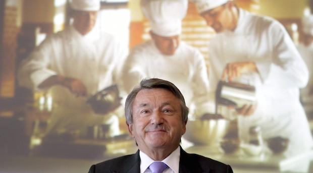 Ernst Tanner, CEO von Lindt & Spruengli, in Kilchberg (Schweiz)