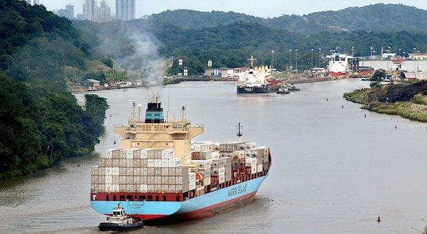 Soll bald Konkurrenz bekommen: Der Panama-Kanal. Mit chinesischer Hilfe will Nicaragua einen Kanal zwischen Atlantik und Pazifik bauen.