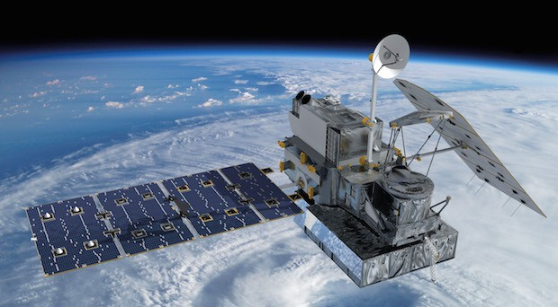 Neue Satelliten könnten bald auch für schnelles Internetverbindungen in  Entwicklungsländern sorgen. (Bild: Archivaufnahme eines Wettersatelliten)