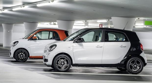 Die Neuen: Smart Fortwo und Smart Fourfour