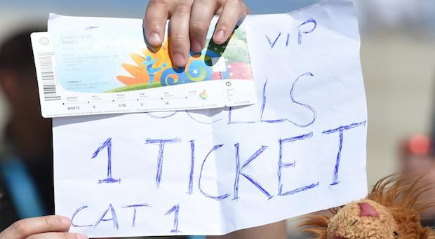WM-Ticket-Verkauf auf dem Schwarzmarkt