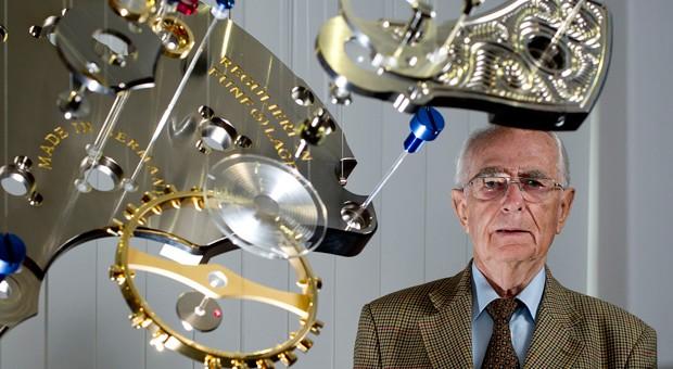 Stolzer Uhrmacher: Walter Lange feiert dieser Tage seinen 90. Geburtstag.