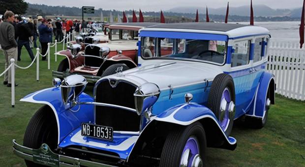 Die Autoshow im kalifornischen Monterey zieht Oldtimer-Liebhaber aus der ganzen Welt an
