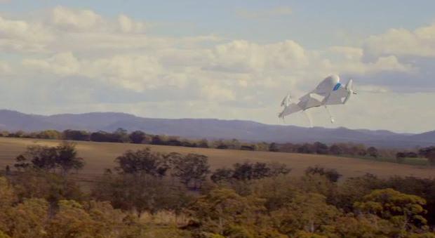 Die Google-Drohne im Test in Australien