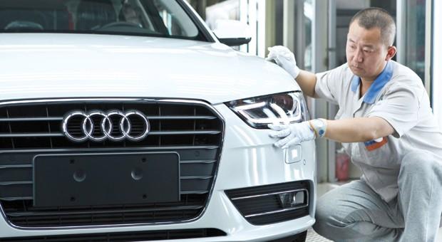 Audi-Produktion im chinesischen Changchun