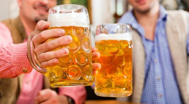 Bayerisches Bier wird immer beliebter in Deutschland.