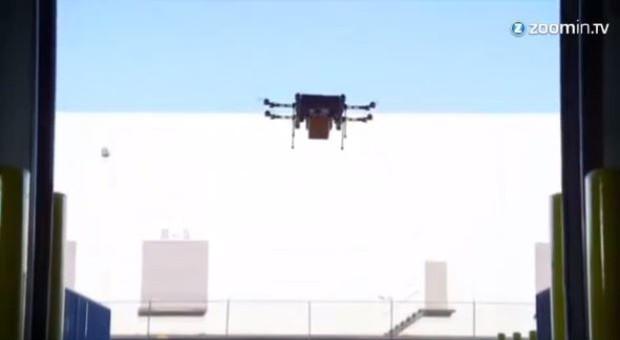 Amazon bastelt schon an einer Drohne (Bild) - jetzt entwicklet auch Google ein Fluggerät für die Warenzustellung.