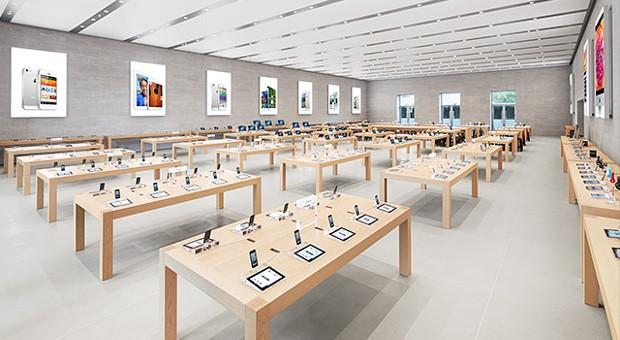 """Das Corporate Design der  """"Apple Stores"""" ist nun auch in Europa vor Kopien von Wettbewerbern geschützt."""
