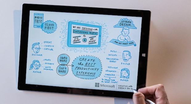 Auf dem Tabletmarkt spielt Microsoft bislang keine entscheidende Rolle. Mit dem Surface3 will der Konzern das ändern.