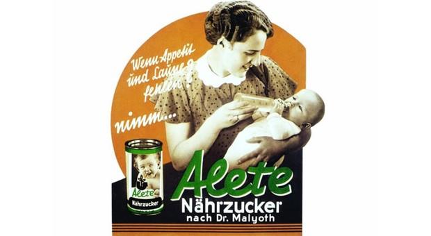 Das erste Alete-Produkt kam 1934 auf den Markt: Ein vom Münchner Kinderarzt Günther Malyoth entwickelter spezieller Säuglingsnährzucker. Wenig später folgte die erste gebrauchsfertige Vollmilch, 1950 dann der Gemüsebrei. 1971 übernahm Nestlé die Marke.