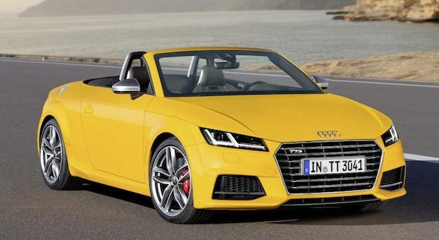 Der neue Audi TT Roadster