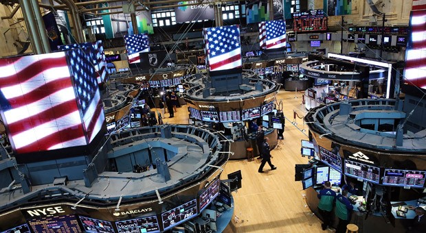 Der Handelssaal der New York Stock Exchange an der Wall Street.