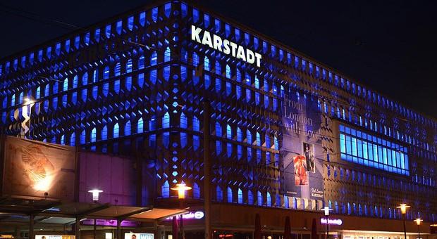 Eine Karstadt-Filiale in Magdeburg.