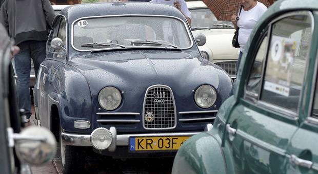 Ein Saab 96 auf einer Oldtimershow in Polen: Kann die Marke wiederbelebt werden?