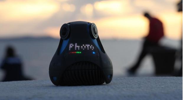 Diese 360-Grad-Kamera ist eine der Neuheiten auf der Photokina 2014