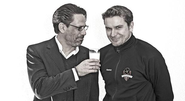 Alexander Maisch (l.) und sein Team-Partner Tom Krause