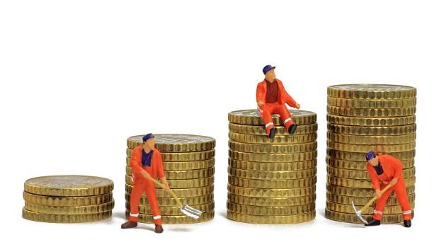 Der Reallohn im Osten Deutschlands liegt bei 85 Prozent des West-Niveaus.