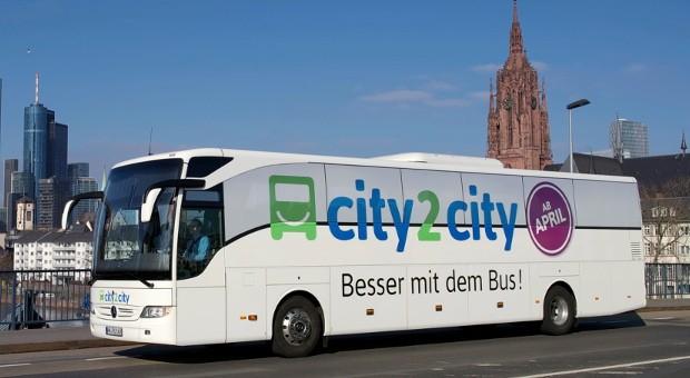 Als erstes Fernbusunternehmen in Deutschland gibt city2city auf.