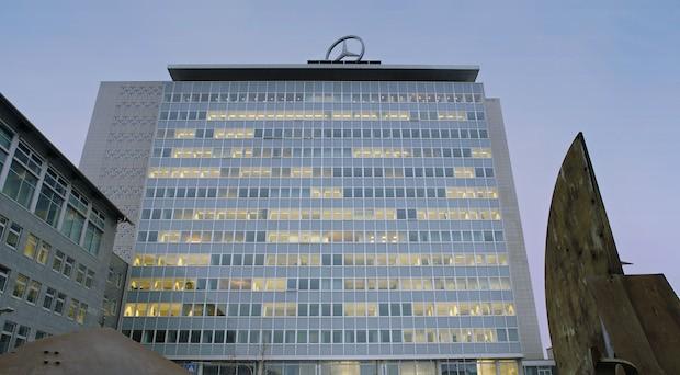 Die Daimler-Konzernzentrale in Stuttgart.