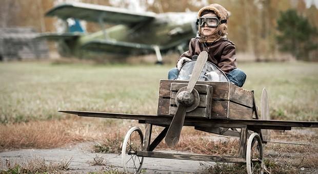 Kleiner Bruchpilot? Hoffentlich nicht! Vom Fehlermanagement in der Luftfahrt können Unternehmen jedenfalls einiges lernen.