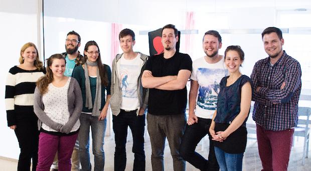 Das Team von GROSSE LIEBE