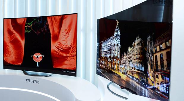 Unter anderem LG zeigt auf der IFA die neuesten Fernsehermodelle.