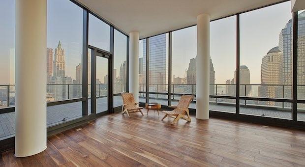 Ausblick: Eine Luxuswohnung in Manhattan