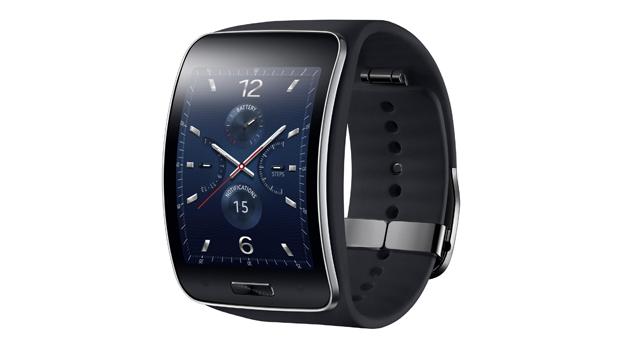 Samsungs Gear S ist eine der Smartphone-Uhren, die auf der IFA zu sehen sind.