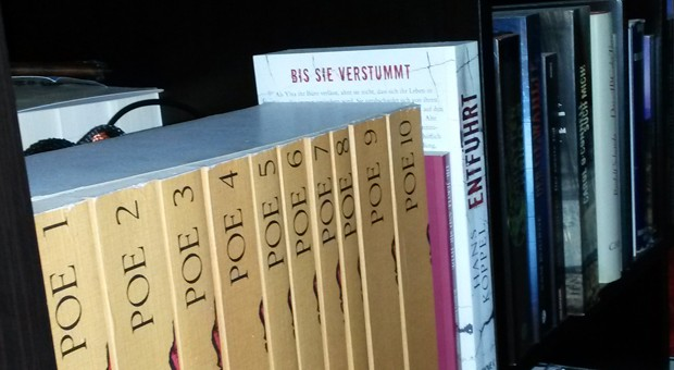 Blick ins Bücherregal der Chefassistentin von impulse, Anna Bicker.