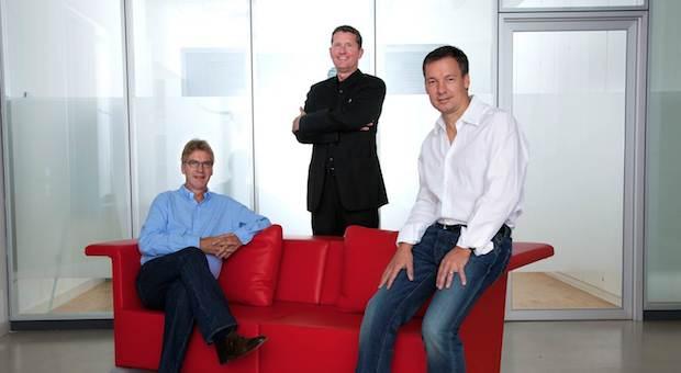 Die Gesellschafter von brainbox (v.l.n.r): Berthold T. Meyer, Jost Wagner und Wolfgang Winter
