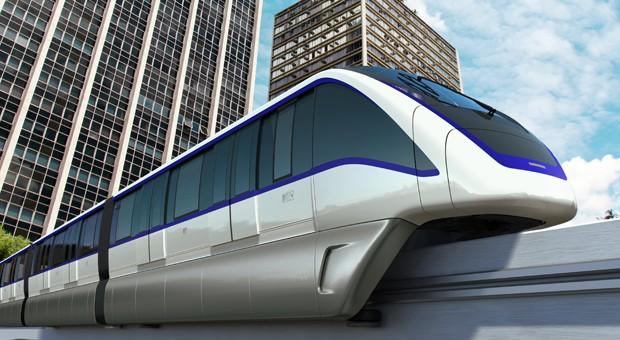 In einigen Städten - im Bild São Paulo - gibt es bereits U-Bahnen und Metrozüge ohne Fahrer.