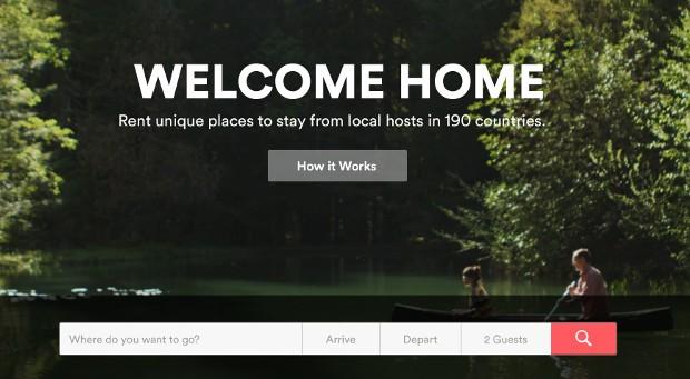 Die Homepage von Airbnb:  Wer seine Wohnung ohne Erlaubnis des Vermieter an Touristen überlässt, riskiert eine fristlose Kündigung.