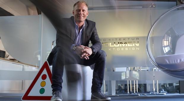Jan Eisner, Gründer der Agentur Raumvolumen Event.Architektur