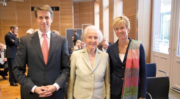Erstmals an der Spitze: Johanna Quandt (Mitte) und ihre beiden Kinder Stefan Quandt und Susanne Klatten haben mit einem gemeinsamen Vermögen von 18,3 Milliarden Euro die Familie Albrecht als reichste Deutsche abgelöst.