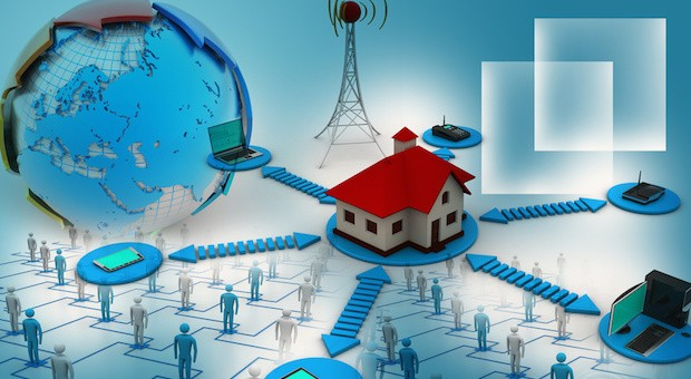 Von der Heizung, über die Beleuchtung bis hin zur Stereoanlage: Mit neuer Technik können Unternehmer ihre Gebäude clever vernetzen.