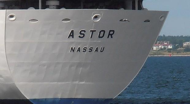 Die MS Astor in Talinn