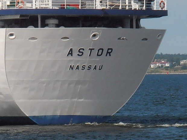 Die MS Astor in Talinn